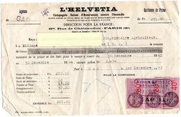 L'helvetia ;  Compagnie Suisse D'assurances - Bank & Insurance
