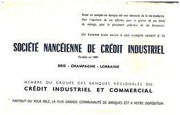 B&A S N/Buvard Banque & Assurance Société Nancéienne De CRÉDIT   (N= 1) - Banque & Assurance