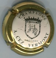 CAPSULE-CHAMPAGNE CEZ-VERMONT A. N°01 Contour Or - Autres