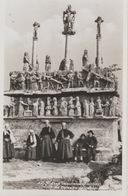 18/10/265  - ST.  JEAN - TROLIMON  ( 29 ) CALVAIRE  DE  TRONDEN  - ( Animé )  CPSM - Saint-Jean-Trolimon