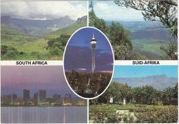 South Africa - Suid-Afrika: Mont-aux-Sucres, Drakensberg. Durban South Beach, God's Window, Transvaal, Strijdom Tower - Zuid-Afrika
