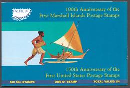 Marshall Islands 1997 Mi# 819-25** MARSHALL ISLANDS STAMPS, CENTENARY - Marshall