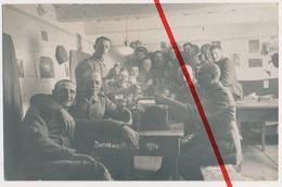 Original Foto - Iwanawa Iwanowo - 1916 - Deutsche Soldaten R.F.L. 116 - Bier Grammophon Quartier - Belarus