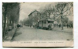 CPA  93 : LE BOURGET  Station De Tramways  VOIR   DESCRIPTIF  §§§ - Le Bourget