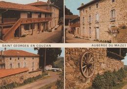 18/10/268  - ST. GEORGES -EN-COUZAN  ( 42 )  AUBERGE  DU  MAZET  - CPM - Frankrijk