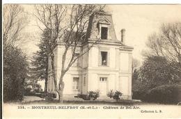 49 - MONTREUIL BELFROY -   Château De  Bel-Air   59 - Other Municipalities