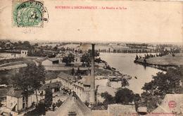 BOURBON L'ARCHAMBAULT -03- LE MOULIN ET LE LAC - Bourbon L'Archambault