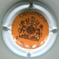 CAPSULE-CHAMPAGNE GUEUSQUIN N. N°07 Orange Ctr Blanc - Champagne