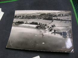 Cpsm 10x15 V Claivaux Les Lacs Le Grand Lac Pedalo Ponton Vue Aerienne Ed Lapie Etat Correct Def Discrets - Clairvaux Les Lacs