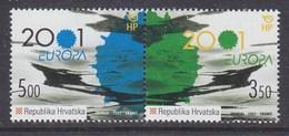 Europa Cept 2001 Croatia 2v  ** Mnh (40947D) - Europa-CEPT