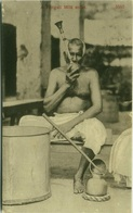 INDIA - A BENGALI MILK SELLER - 1910s  (BG547) - India