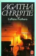 L'affaire Prothero Par Agatha Christie (ISBN 225302001X EAN 9782253020011) - Agatha Christie