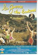 """C 546 - YVES ROBERT  """" LA GUERRE DES BOUTONS  """" - Affiches Sur Carte"""