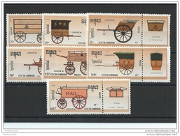 CAMBODGE 1990 - YT N° 900/906 NEUF SANS CHARNIERE ** (MNH) GOMME D'ORIGINE LUXE - Cambodia