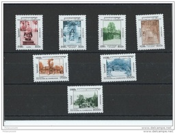 CAMBODGE 1997 - YT N° 1409/1415 NEUF SANS CHARNIERE ** (MNH) GOMME D'ORIGINE LUXE - Cambodia