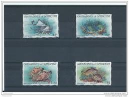 SAINT VINCENT 1984 - YT N° 311/314 NEUF SANS CHARNIERE ** (MNH) GOMME D'ORIGINE LUXE - St.Vincent & Grenadines
