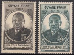 N° 180 Et N° 181 - X  - ( C 1576 ) - Guayana Francesa (1886-1949)