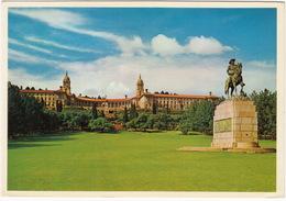 Pretoria - Union Buildings, Botha Statue , Transvaal , Uniegebou, Standbeeld Botha - ( South Africa - Suid-Afrika) - Zuid-Afrika