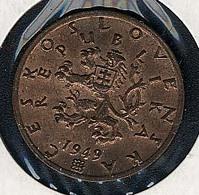 Tschechoslowakei, 50 Haleru 1949, UNC - Czechoslovakia