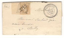 8620 - ROSSILLON Type  24 - Marcophilie (Lettres)