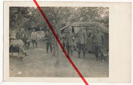Original Foto - Purcelesti - Vrancea - Sommer 1917 - Kantine Und Sanitätswagen - Romania