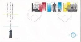 Nederland - FDC - Zomerzegels - Stoomgermaal/watertoren/geelgieterij - NVPH E244 - Monumenten