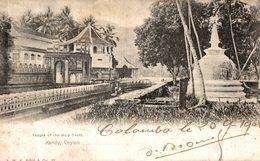 CEYLON KANDY TEMPLE OF THE HOLY TOOTH - Sri Lanka (Ceylon)