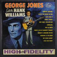 """Only Le Vinyle 33 Tours LP """"Sans No Jaquette"""" Georges Jones Salutes Hank Williams SR60257 Quelques Rayures Douces! - Collectors"""