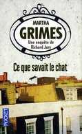 Ce Que Savait Le Chat Par Grimes (ISBN 9782266219082) - Books, Magazines, Comics