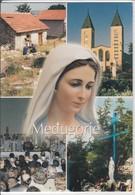 MEDUGORJE  MULTI VIEW MADONNA MADONA  NICE STAMP - Bosnië En Herzegovina