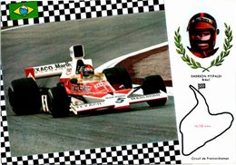 Sport Auto - Emerson FITIPALDI - Circuit De Francorchamps - Brésil - Other
