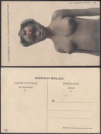 Congo Belge 1910 - Carte Postale Nr. 1 Femme Bango-Bango Ref. (DD)  DC0136 - Belgian Congo - Other