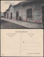 Congo Belge 1910 - Carte Postale Nr. 3 La Gare De Matadi.  Ref. (DD)  DC0138 - Congo Belge - Autres