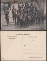 Congo Belge 1910 - Carte Postale Nr. 5 Indigènes Lukelele   Ref. (DD)  DC0140 - Belgian Congo - Other