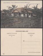 Congo Belge 1910 - Carte Postale Nr. 10 . Habitation à Mulungu (Manyema)    Ref. (DD)  DC0144 - Belgian Congo - Other