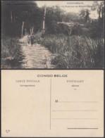 Congo Belge 1910 - Carte Postale Nr. 11 . Un Pont Sur Un Marais (Manyema)    Ref. (DD)  DC0145 - Belgian Congo - Other