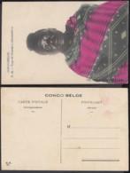 "Congo Belge 1910 - Carte Postale Nr. 12 . Femme ""Abarambo""    Ref. (DD)  DC0146 - Belgian Congo - Other"