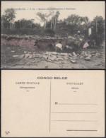Congo Belge 1910 - Carte Postale Nr. 14 . Maison En Construction à Mulungu.  Ref. (DD)  DC0148 - Belgian Congo - Other