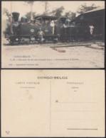 Congo Belge 1910 - Carte Postale Nr. 27 . Chemin De Fer Des Grands Lacs   Ref. (DD)  DC0159 - Belgian Congo - Other