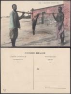 Congo Belge 1910 - Carte Postale Nr. 32 . Poisson Des Rapides De L'Elila.   Ref. (DD)  DC0164 - Congo Belge - Autres