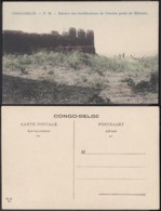 Congo Belge 1910 - Carte Postale Nr. 39 . Ruines Fortifications Mifucho Ref. (DD)  DC0170 - Belgian Congo - Other