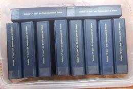 """LOT De 10 ALBUMS """"NOTICES 1er JOUR DES TIMBRES POSTE DE FRANCE"""" -> NOTICES ALLANT DE 1991 à 2007 - FDC / PREMIER JOUR - Documents De La Poste"""