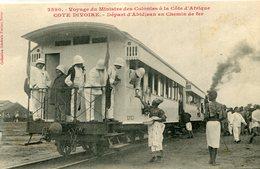 COTE D IVOIRE(ABIDJAN) GARE(TRAIN) - Ivory Coast