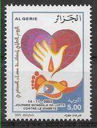 2003 ALGERIE 1353** Médecine, Diabète - Algérie (1962-...)