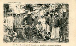 COTE D IVOIRE(TYPE MILITAIRE) ARTILLERIE - Ivory Coast