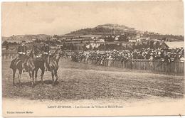 42  Loire  : Hippisme  Les Courses De Villars Et St Priest   Réf 5007 - France