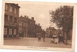 42  Loire  :  Villars  Place Gambetta   Réf 5008 - France