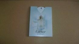 Carte Parfumée Puffer CARTIER Carat  (Nouveauté) - Modern (from 1961)