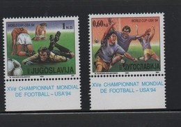 YOUGOSLAVIE N° 2520/2521 ** - FOOTBALL - 1994 – USA