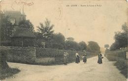 LISON - Route De Lison à Saint Lô. - France
